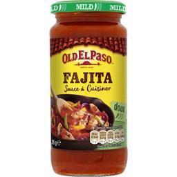 Old El Paso Old El Paso Sauce à cuisiner pour Fajitas doux le pot de 395 g