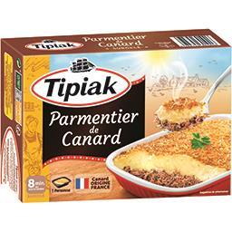 Parmentier Tipiak Parmentier de canard la boite de 310 g