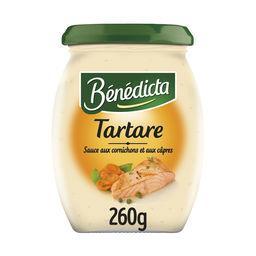 Bénédicta Bénédicta Sauce Tartare le pot de 260 g