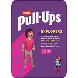 Huggies Huggies Pull-Ups - Couches-culottes fille Explorers, 8-12 kg le paquet de 36