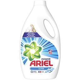 Ariel Ariel Lessive liquide alpine 45 lavages La bouteille de lessive de 2.475l