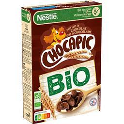 Nestlé Nestlé Chocapic Céréales petit déjeuner BIO au chocolat la boite de 375g