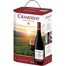Cramoisay Caves Vernaux Vin rouge caves vernaux cramoisay La fontaine de 5l