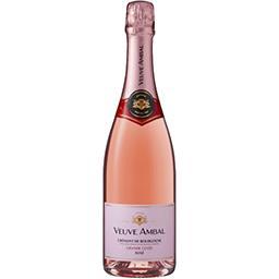 Veuve Ambal Veuve Ambal Grande Cuvée - Crémant de Bourgogne brut rosé la bouteille de 75 cl