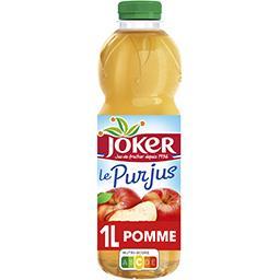 Joker Joker Le Pur Jus - Jus de pomme la bouteille de 1 l