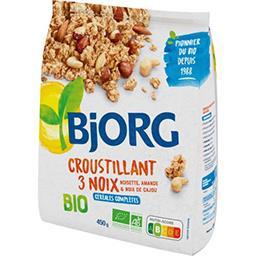 Bjorg Bjorg Croustillant 3 noix BIO le paquet de 450 g