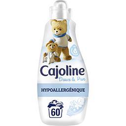 Cajoline Cajoline Adoucissant concentré Doux & Pur hypoallergénique le bidon de 1,5 l