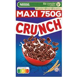Nestlé Nestlé Crunch Céréales petit déjeuner au chocolat la boite de 750g