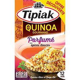 Tipiak Tipiak Quinoa Gourmand parfumé aux épices douces les 2 sachets de 120 g - Offre Découverte