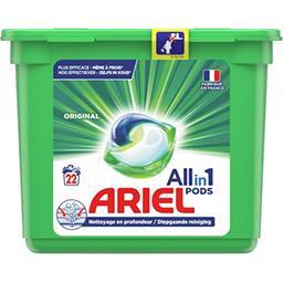 Ariel Ariel Lessive en capsules allin1 pods original La boite de 22 capsules