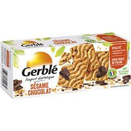 Gerblé Gerblé Biscuit sésame chocolat le paquet de 24 biscuits - 200 g