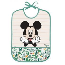 Walt Disney Tigex Disney Baby - Bavoir imperméable Mickey +12 m le bavoir