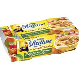 Nestlé La Laitière Clafoutis aux pommes façon Tatin les 4 pots de 85 g
