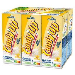 Candia Candia Candy'Up - Boisson lactée goût vanille les 6 briques de 20 cl