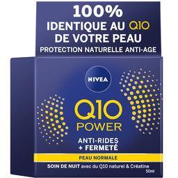 Nivea Nivea Q10 Power - Soin de nuit anti-rides + fermeté le pot de 50 ml