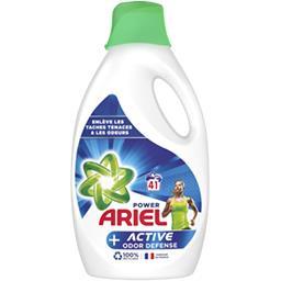 Ariel Ariel Lessive liquide + défense active contre les odeurs La bouteille de lessive de 2.25l