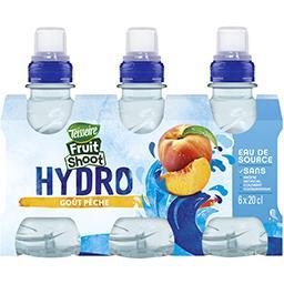 Teisseire Teisseire Fruit Shoot - Boisson Hydro goût pêche les 6 bouteilles de 20 cl
