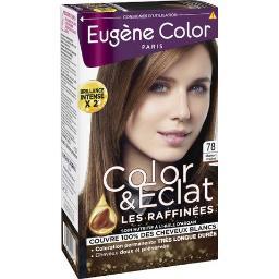Eugène Color Eugène Color Les Raffinés - Coloration marron praliné 78 la boite de 115 ml