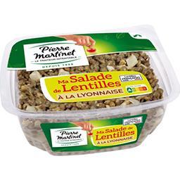 Pierre Martinet Pierre Martinet Ma Salade de lentilles à la lyonnaise la barquette de 300 g