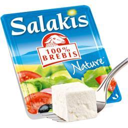 Salakis Salakis Fromage 100% brebis la barquette de 200 g
