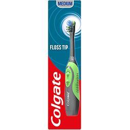 Colgate Colgate 360° - Brosse à dents à piles, brosse-langue la brosse à dents
