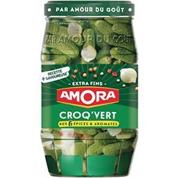 Amora Amora Croq'Vert - Cornichons Extra-Fins le bocal de 205g