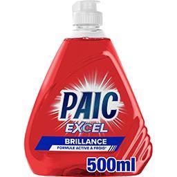 Paic  Paic Excel - Liquide vaisselle Brillance le flacon de 500 ml
