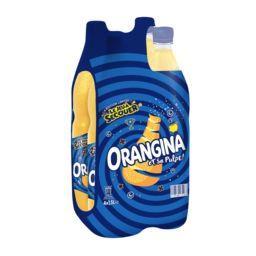 Orangina Orangina Soda aux fruits et sa pulpe les 4 bouteilles de 1,5 l