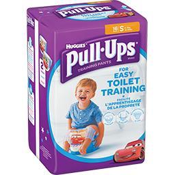 Huggies Huggies Culottes d'apprentissage Pull-Ups garçon, taille S : 8-15 kg le paquet de 16
