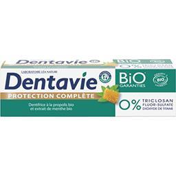 Dentavie Dentavie Dentifrice Protection Complète propolis et menthe BIO le tube de 75 ml