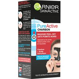 Pure Active - Masque Peel-Off anti-points noirs charbon