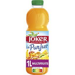 Joker Joker Le Pur Jus - Jus multifruit (fruits et légumes) la bouteille de 1 l