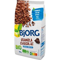 Bjorg Bjorg Créales granola chocolat BIO le sachet de 350g