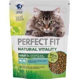Perfect Fit Perfect fit Natural Vitality - Croquettes saumon & poissons blanc chats le sac de 1 kg