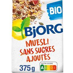 Bjorg Bjorg Muesli sans sucre ajouté BIO le paquet de 375 g