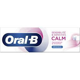 Oral B Oral B Dentifrice sensibilité & gencives calm original Le tube de 75ml