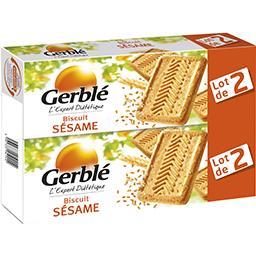 Gerblé Gerblé L'Expert Diététique - Biscuits sésame les 2 boites de 230 g