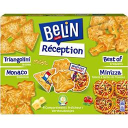 Belin Belin Assortiment de Crackers Réception la boite de 380 g