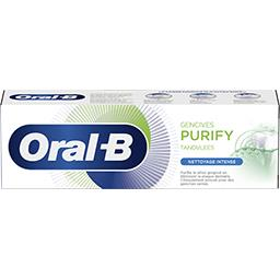 Oral B Oral B Dentifrice gencives purify nettoyage intense Le tube de 75ml