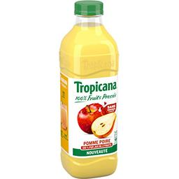Tropicana Tropicana Jus de fruit pomme poire la bouteille de 1l