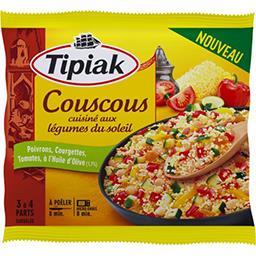Tipiak Tipiak Couscous cuisiné aux légumes du soleil le sachet de 480 g