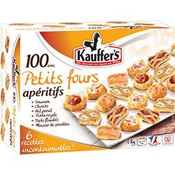 Kauffer's Kauffer's Petits fours apéritifs la boite de 1 kg