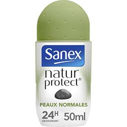 Sanex Sanex Natur Protect - Déodorant 24h peaux normales à la pierre d'alun le roll-on de 50 ml