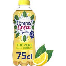 Contrex Contrex Green - Boisson thé vert saveur citron BIO la bouteille de 75 cl
