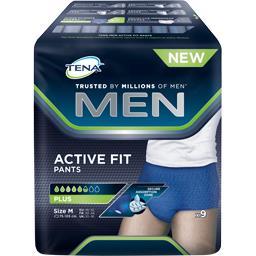 Tena Tena Men - Sous-vêtement Active Fit Plus taille M pour homme la boite de 9
