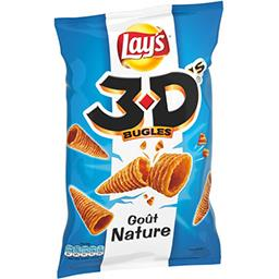 Bénénuts Bénénuts 3D Bugles - Biscuits apéritif goût nature le sachet de 85 g