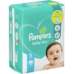 Pampers Pampers Couches baby-dry pants taille 5, 11-16kg Le paquet de 24 couches
