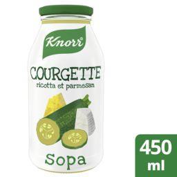 Knorr Knorr Soupe courgette ricotta et parmesan la bouteille de 0,45 l