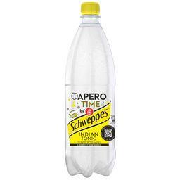 Schweppes Schweppes Indian Tonic - Soda aux extraits d'écorces de quinquina la bouteille de 1 l