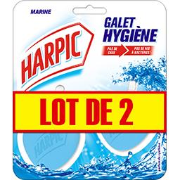Harpic Harpic Galet Hygiène marine le lot de 2 boites de 80 g